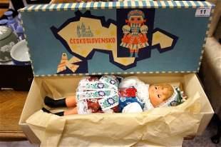 A Ceskoslovensko Lidova Tvorba-Uhersky brod Doll in ori