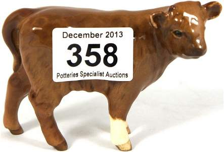 Beswick Limousin Calf. From the Beswick Collectors Club