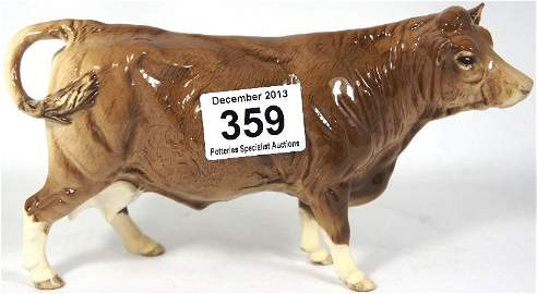 Beswick Limousin Cow. From the Beswick Collectors Club.