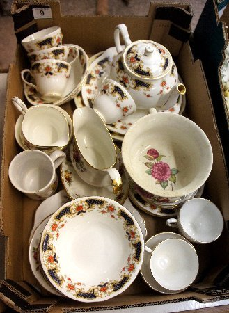 A collection of pottery to include Duchess Westminster