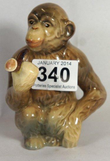 Beswick Monkey Smoking a Pipe, model 1049