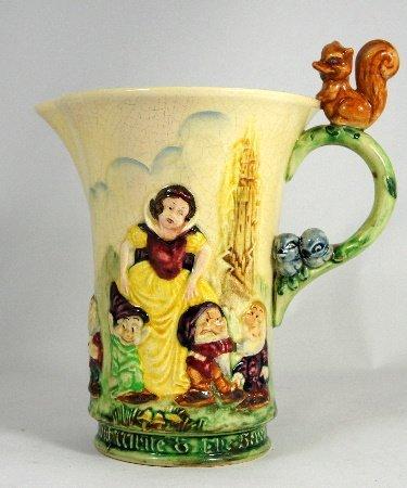 Wadeheath musical Jug Snow White and the Severn
