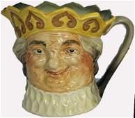 Rare Royal Doulton large musical character jug Old King