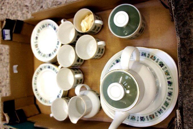 Royal Doulton Tapestry TC 1024 tea set comprising of