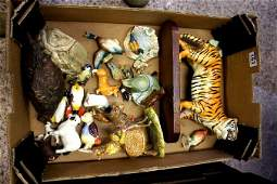 A collection of various Beswick Animals including