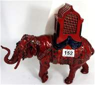 Rpyal Doulton large Flambe Shanxi Elephant frpm the