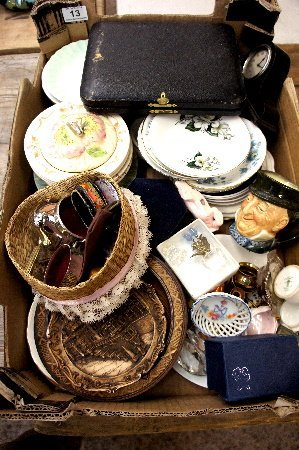 Collection of various pottery and collectable items to