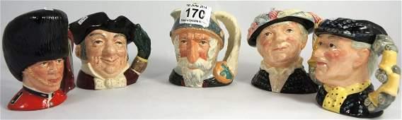 Royal Doulton Small Character Jugs Don Quixote D6460,