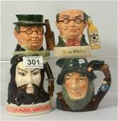 Royal Doulton whiskey character jugs Samurai Warrior