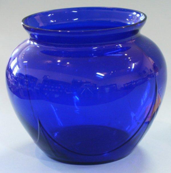 2006: Cambridge Royal Blue Ball Vase