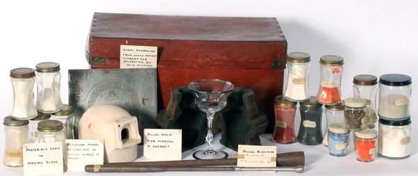 2900: RARE Cambridge Glass Display Saleman's Kit