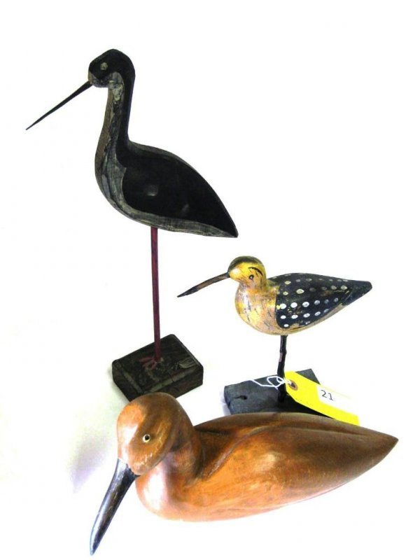 SHORE BIRD DECOYS
