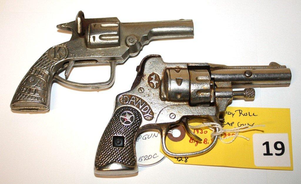 19: HUBLEY & KILGORE CAP GUNS