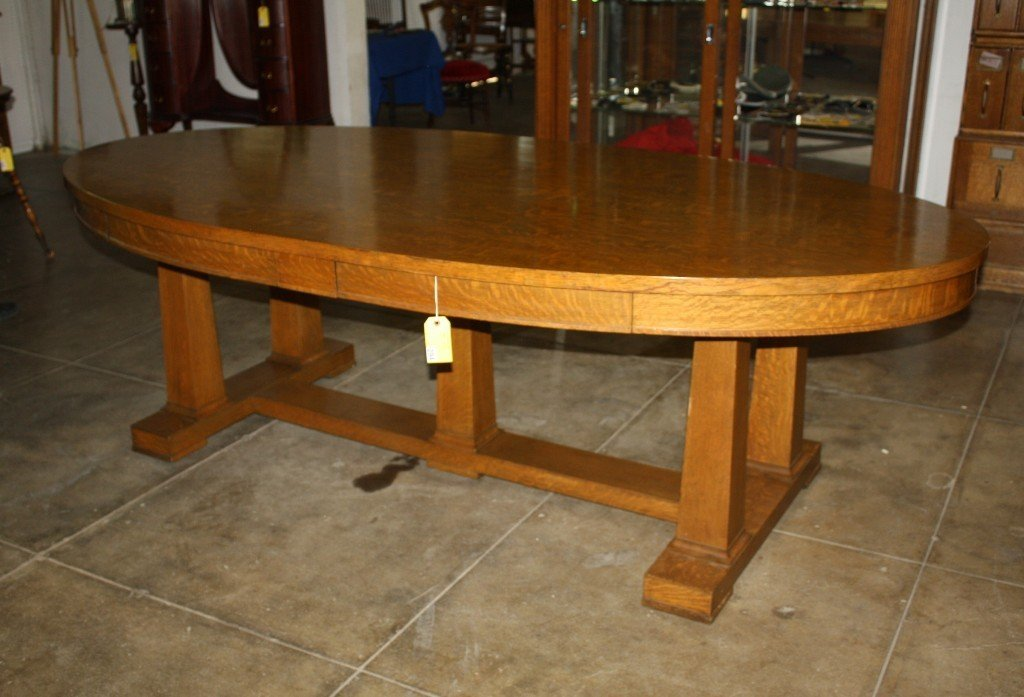 294: OAK CONFERENCE TABLE