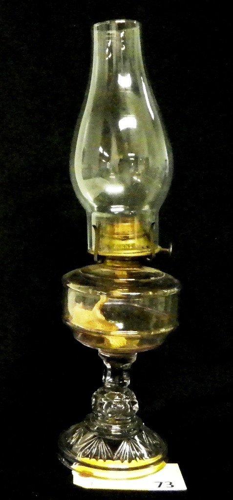 73: VICTORIAN KEROSENE LAMP
