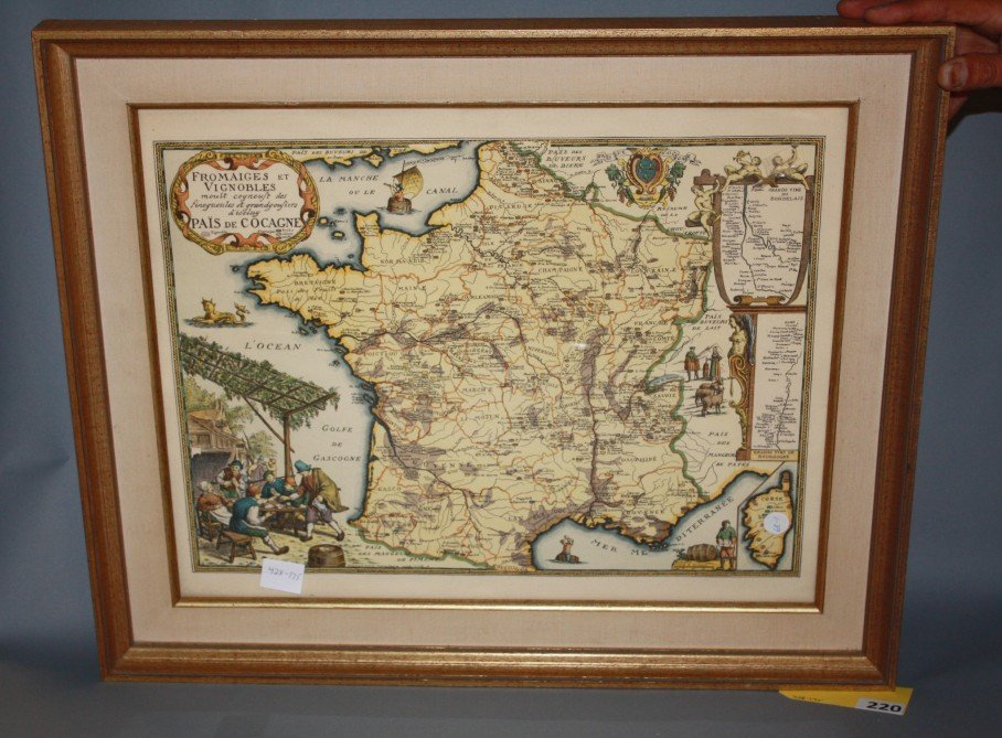 220: FRENCH MAP
