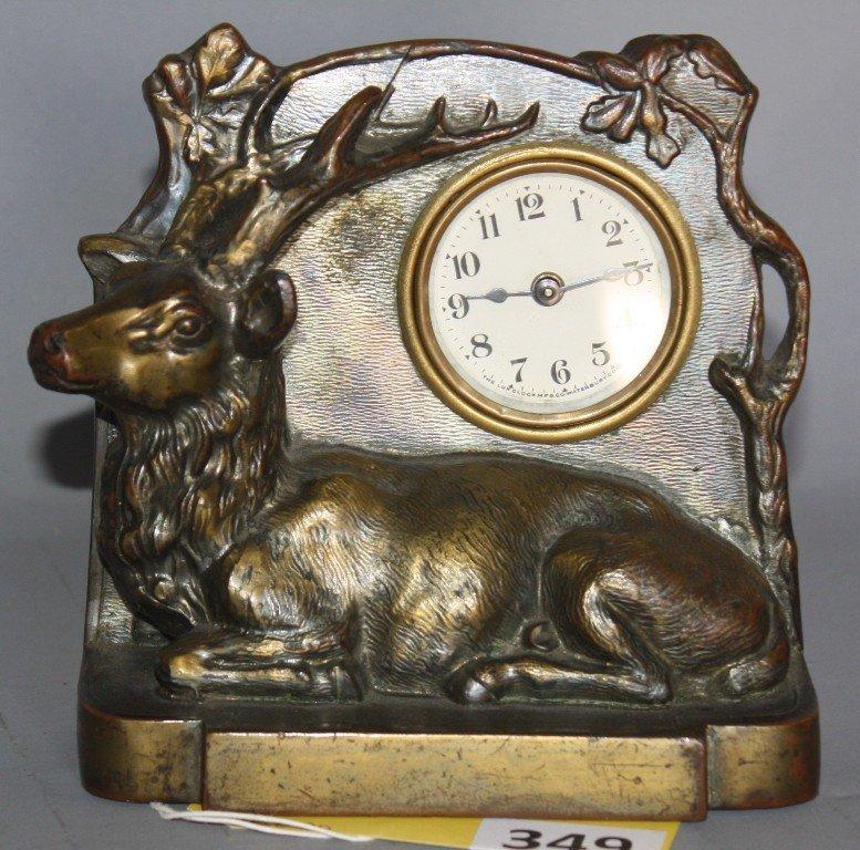 349: LUX DRESSER CLOCK