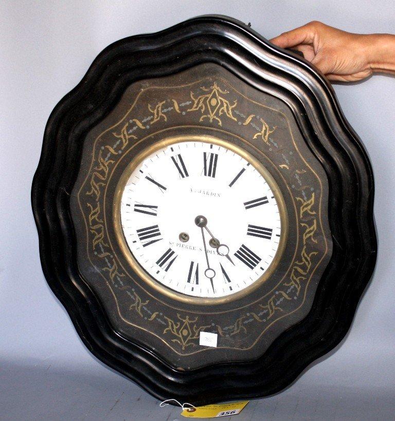 356: A JARDIN CLOCK
