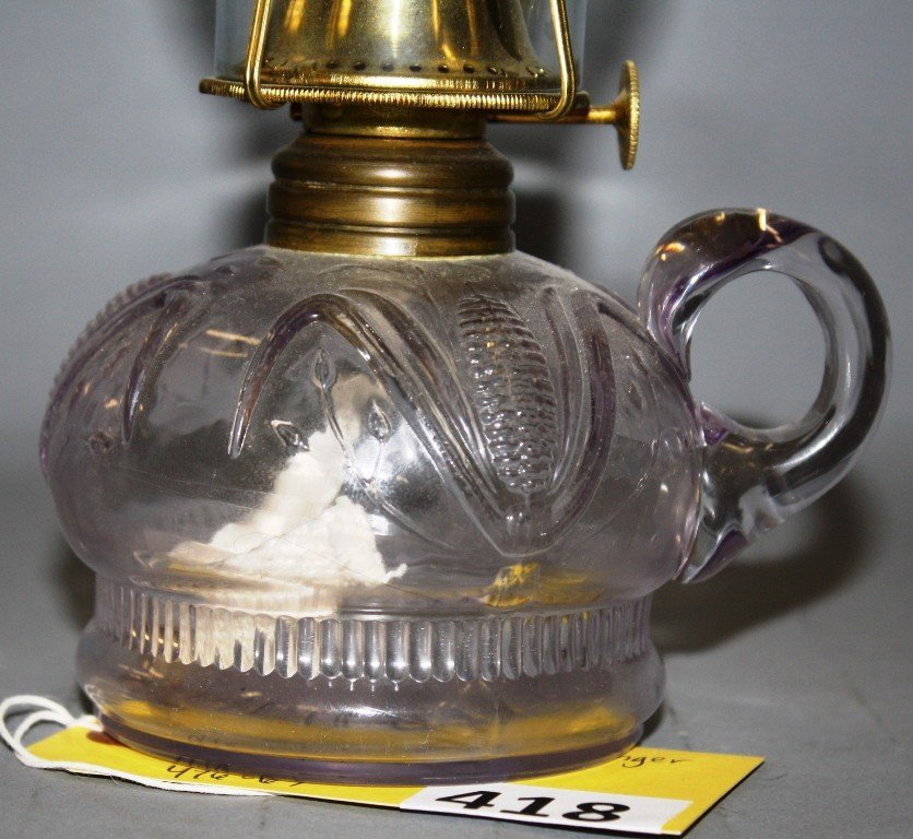 418: CORN FINGER LAMP