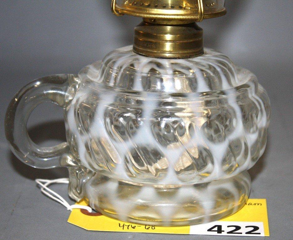 422: MARKHAM SWIRL FINGER LAMP