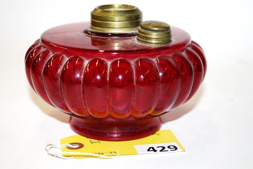 429: CRANBERRY BRACKET LAMP FONT