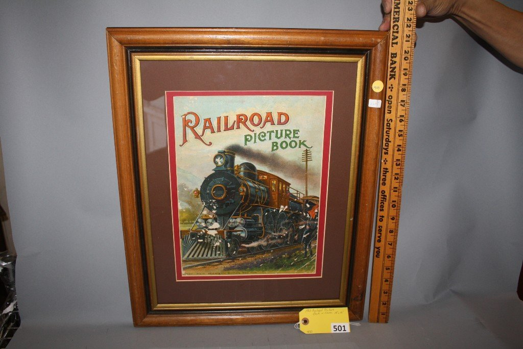 501: 1903 RAILROAD PICTURE - 2