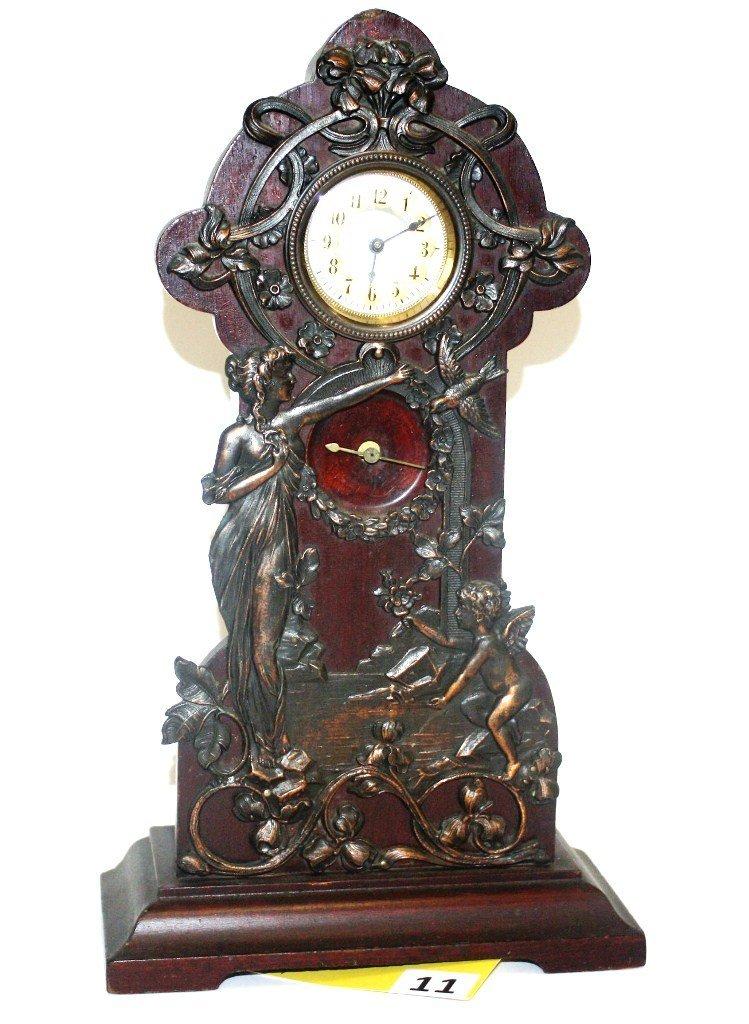 11: GERMAN DRESSER CLOCK