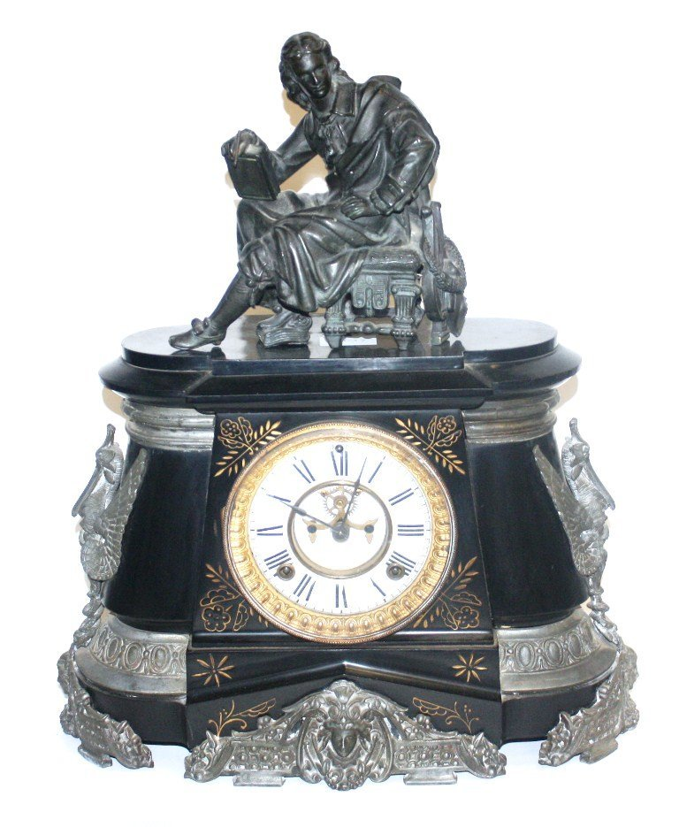 17: ANSONIA TABLE CLOCK
