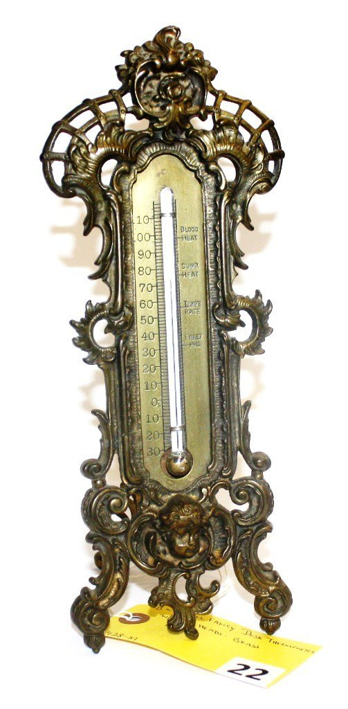 22: B & H THERMOMETER