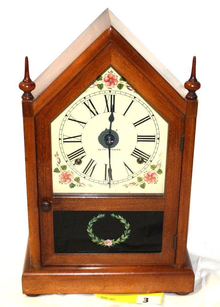 3: SETH THOMAS MANTLE CLOCK