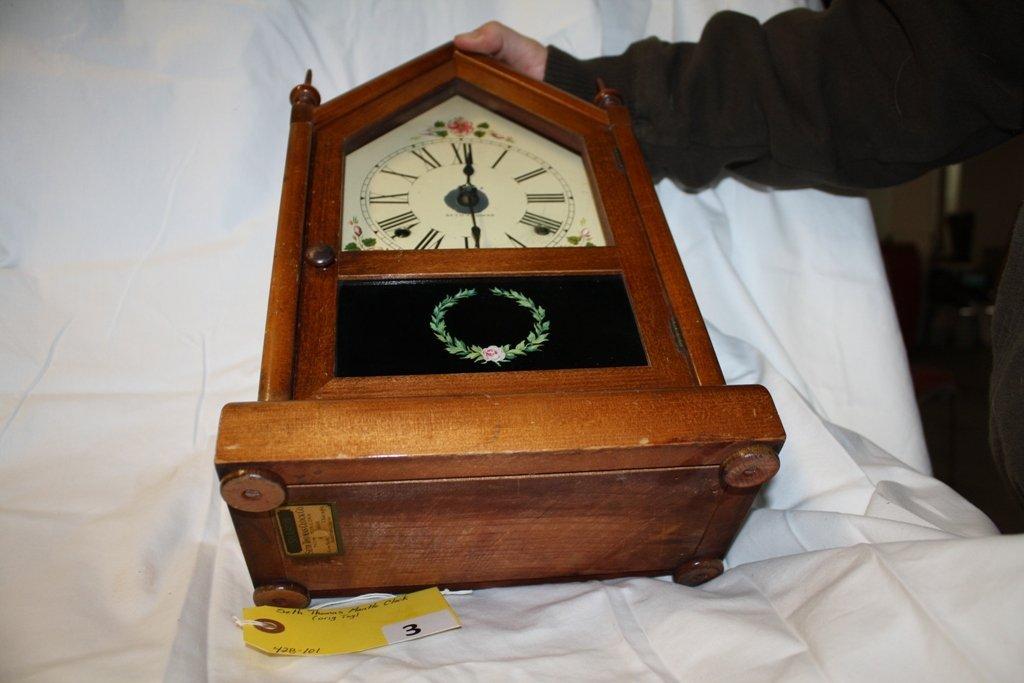 3: SETH THOMAS MANTLE CLOCK - 7