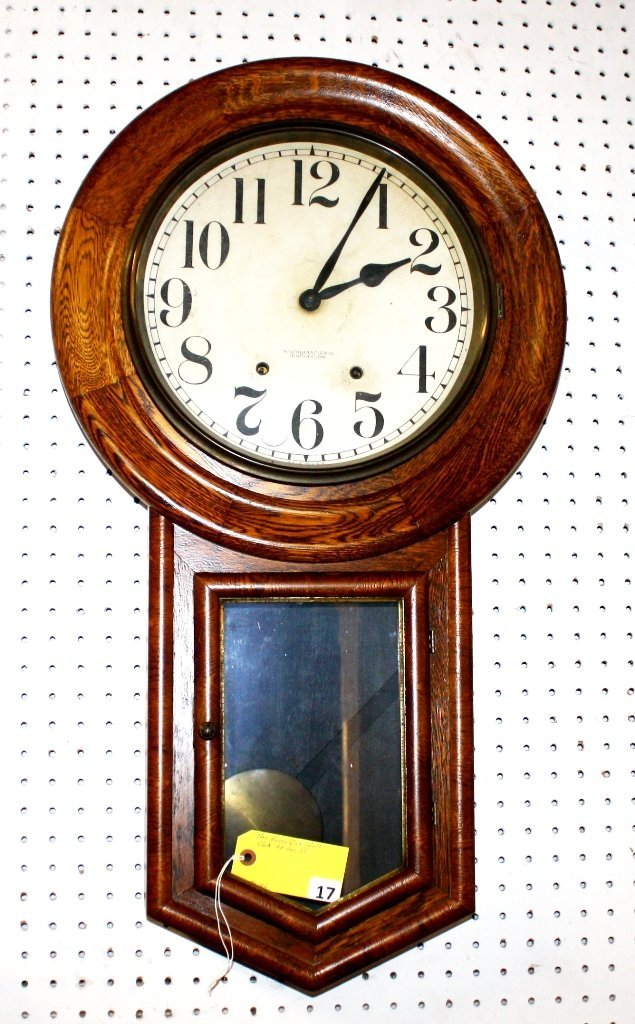 17: NEW HAVEN WALL CLOCK