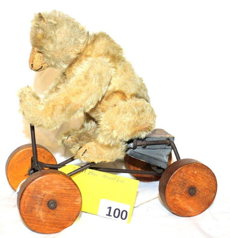 100: STEIFF RECORD TEDDY