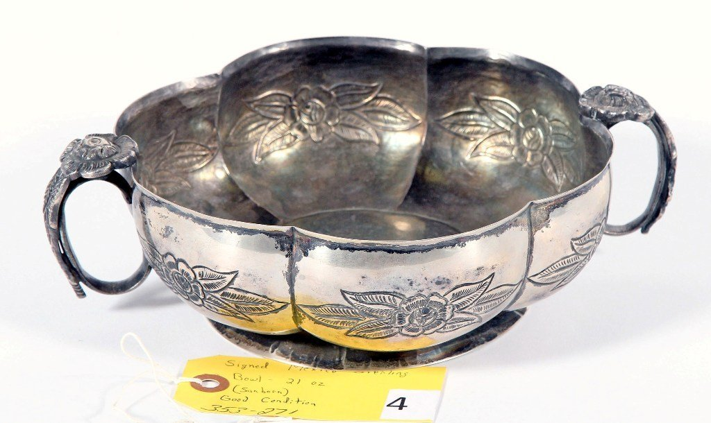 MEXICO STERLING BOWL