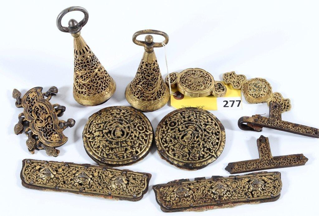 TIBETAN SADDLE DECORATION