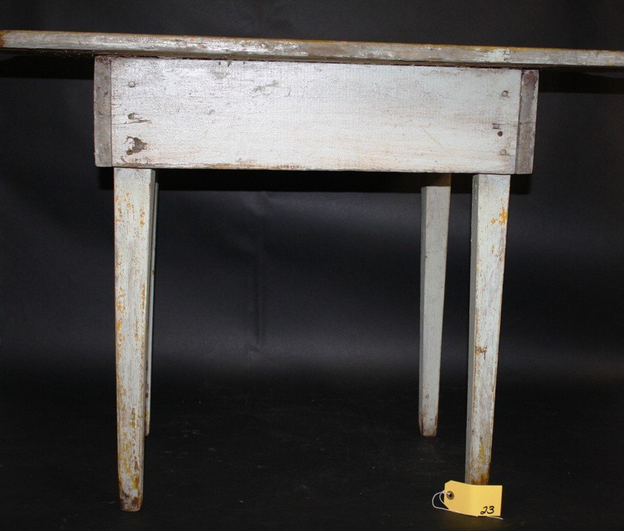 COUNTRY PRIMITIVE WORK TABLE
