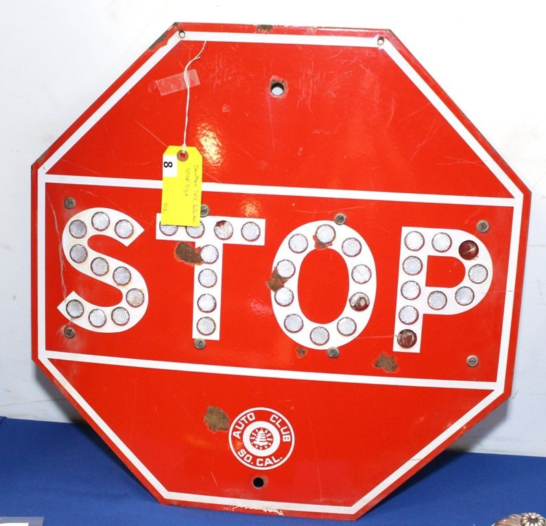 SO CAL AAA STOP SIGN