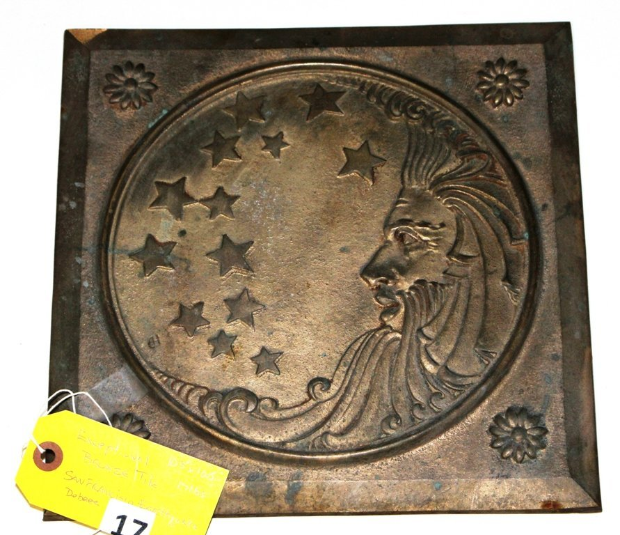 1906 SFO BRONZE TILE