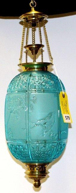 Baccarat  BLUE HALL LAMP