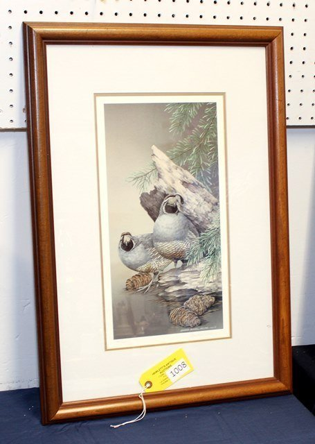 SHERRIE RUSSELL MELINE LIMITED ED. PRINT