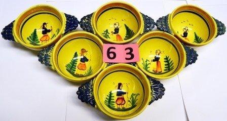 QUIMPER SOUP CUPS