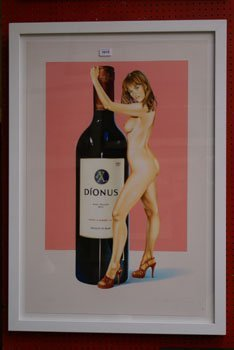 1015: A Mel Ramos limited edition advertising print tit