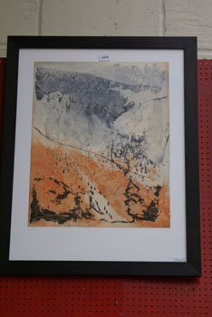 """1019: A Loste limited edition print titled """"Paysage F"""""""