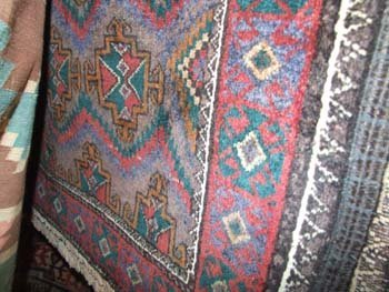18D: An old North East Persia Kurdie rug with distinct