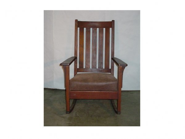 2: Tall Back Mission Rocker-stickley era