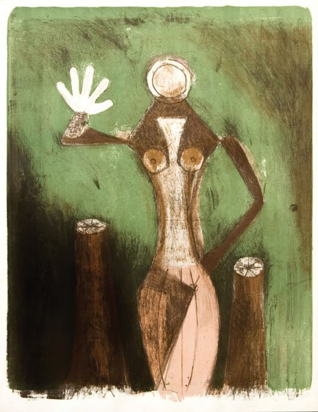 5: RUFINO TAMAYO - UNTITLED - MEXICO