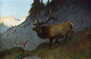 A Knight Errant by Carl Rungius (1869-1959)