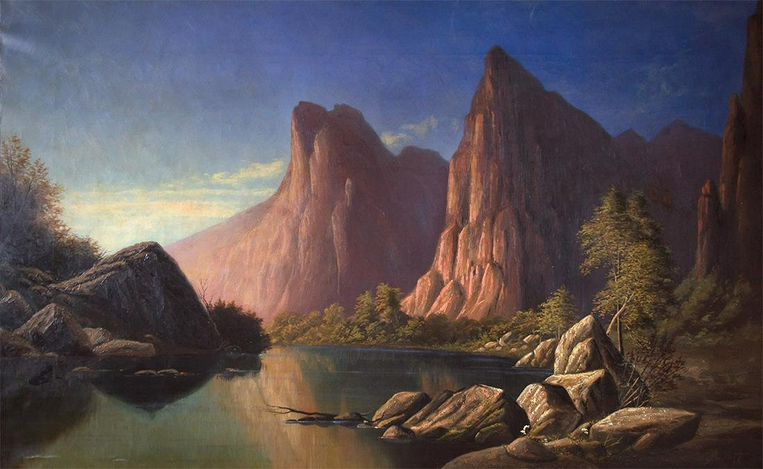 Rio Virgen - Southern Utah by Alfred William Lambourne