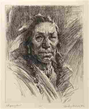 Chipewyan by Harley Brown (1939- )