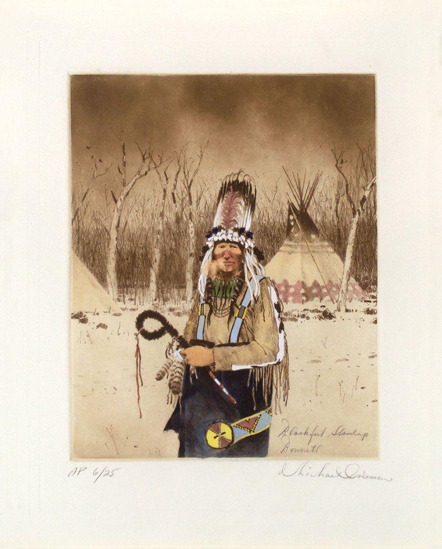 Blackfoot Standing Bonnet by Michael Coleman (1946- )